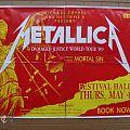 Other Collectable - Metallica - original '1989 Damaged Justice World Tour - Australian Tour Poster