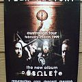 Other Collectable - Fear Factory - Obsolete - '1999 Australian Tour - Poster