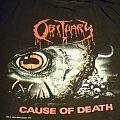 TShirt or Longsleeve - Obituary - Cause of death - European tour shirt