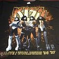 TShirt or Longsleeve - Kiss - Alive/ worldwide - setting Melbourne on fire tour shirt