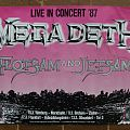Other Collectable - Megadeth / Flotsam and Jetsam 1987 Tour - Poster