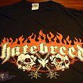 TShirt or Longsleeve - Hatebreed - 2010' The Black Procession Australian tour Tshirt