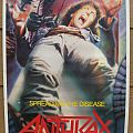 Other Collectable - Anthrax - Spreading the disease - Poster