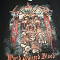 TShirt or Longsleeve - Slayer - World Painted Blood 2009' Australian tour shirt