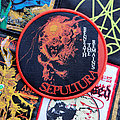 Sepultura - Patch - Sepultura - Beneath the Remains woven patch