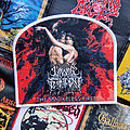 Lunar Shadow - Patch - Lunar Shadow - The Smokeless Fires woven patch