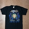 ANTHRAX T-SHIRT - For All Kings - Word Tour 2016