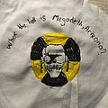 Handmade shitty megadeth patch