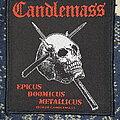 Candlemass - Patch - Candlemass Epicus Doomicus Metallicus