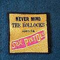 Sex Pistols - Patch - Sex Pistols, never mind the bullocks patch