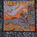 Megadeth - Patch - Megadeth, peace sells patch