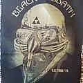 Black Sabbath - Patch - Black Sabbath back patch