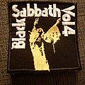 Black Sabbath - Patch - Black Sabbath Vol. 4 patch!