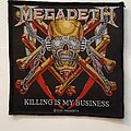 Megadeth - Patch - Megadeth Killing is my business... patch
