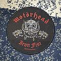 Motörhead - Patch - Motörhead Iron Fist patch