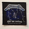 Metallica - Patch - Metallica ride the lighting patch