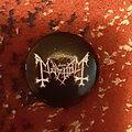 Mayhem - Pin / Badge - Mayhem button
