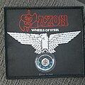 Saxon - Patch - Saxon, wheels of Steel