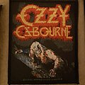 Ozzy Osbourne - Patch - Ozzy, Bark at the moon patch