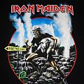 Iron Maiden Somewhere Back in Time New Zealand Event shirt