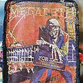 Megadeth - Patch - Megadeth peace sells patches