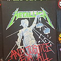 Metallica - Patch - Justice Backpatch