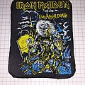 Iron Maiden - Patch - Iron maiden live after death patch screen printing