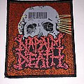 Napalm Death - Patch - Napalm Death - Mentally Murdered patch