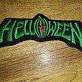Helloween - Patch - Helloween logo patch green
