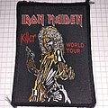 Iron Maiden - Patch - Iron maiden killer world tour patch