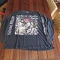 Napalm Death - TShirt or Longsleeve - Napalm death campaign for musical destruction europe 1992 longsleeve