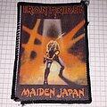 Iron Maiden - Patch - Iron maiden maiden japan patch photo printing