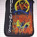 Slayer - Patch - Slayer hell awaits patch screen printing