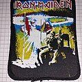 Iron Maiden - Patch - Iron Maiden 2 Minutes to Midnight patch screen printing