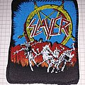 Slayer - Patch - Slayer hell awaits patch screen printing 1111