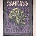 Carcass - Patch - Carcass necrohead Backpatch 1992