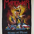 Manowar - Patch - Kings of metal