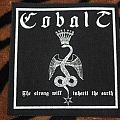 Cobalt - 'The strong will inherit the earth' patch