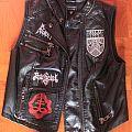 BM leather vest