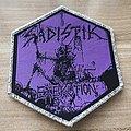 Sadistik Exekution Official Woven Patch
