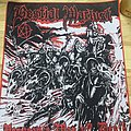 Bestial Warlust Official Woven Back Patch