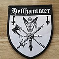 Hellhammer Woven Patch 2