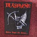 Blasphemy - Fallen Angel of Doom... (Back Patch)