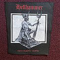 Hellhammer - Apocalyptic Raids (Back patch)