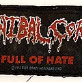 Cannibal Corpse - Patch - Cannibal Corpse 1993 Full Of Hate Patch Strip
