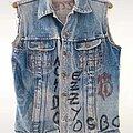 Ac / Dc - Battle Jacket - Vintage 1980s Batte Vest Kutte Jacket