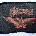 Saxon - Patch - Saxon 1980 Wheels Of Steel Patch