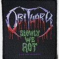 Obituary - Patch - Obituary 1990 Slowly We Rot Patch