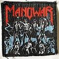 Manowar - Patch - Manowar 1987 Fighting The World Patch