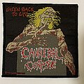 Cannibal Corpse - Patch - Cannibal Corpse 1992 Eaten Back To Life patch